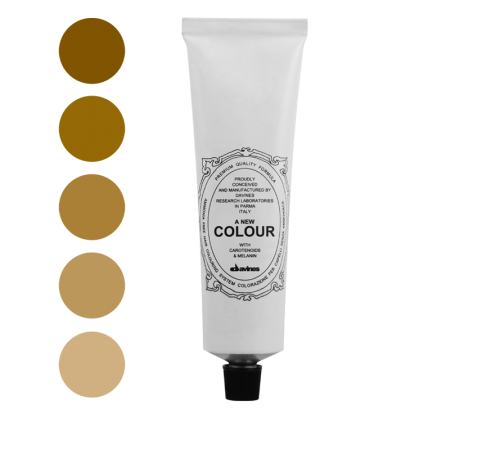 Colore Naturale Golden- ColorSpace Davines
