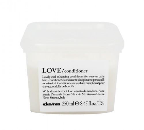 Love Curl Conditioner Volumizzante - Essential Care Davines